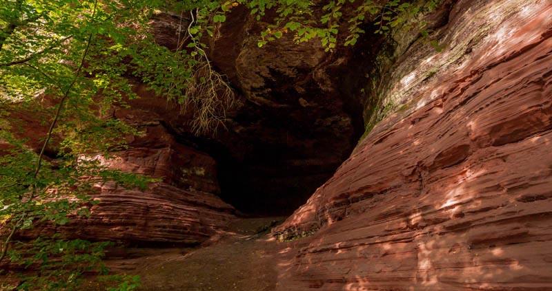 Der Altschloßpfad zum Altschloßfelsen - Unverhofft beeindruckend 197