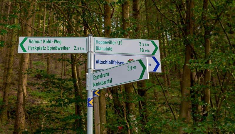 Der Altschloßpfad zum Altschloßfelsen - Unverhofft beeindruckend 202