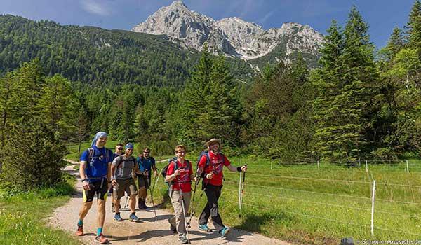 Wanderwege in Bayern