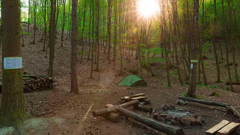 trekkingplätze