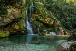 Virje Wasserfall