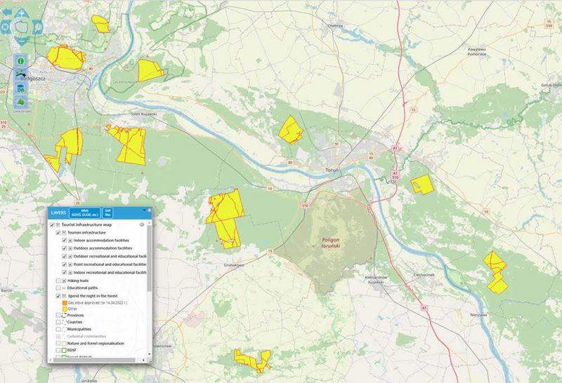 wildzelten karte polen
