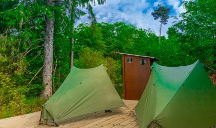 Trekkingplätze NRW - Trekking im Sauerland und Eifel 1