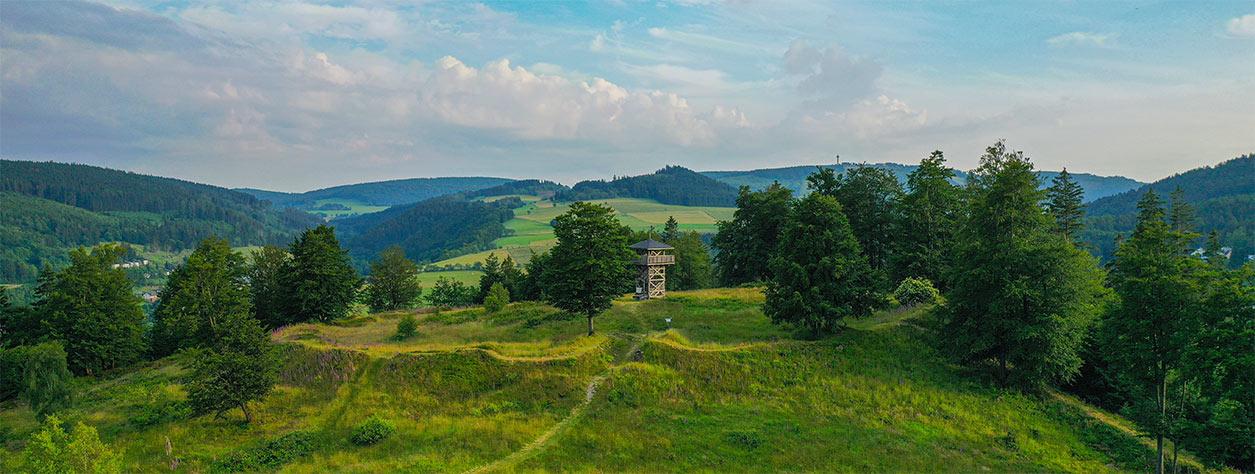 Uplandsteig Etappe 1 - Aussichten, Burganlagen uvm 2