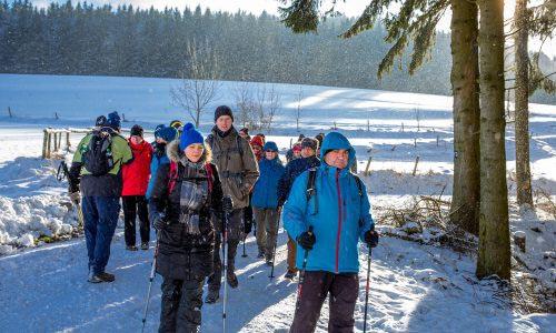 Schönecker Winterhunderter (4. Deutscher Winterwandertag) 1
